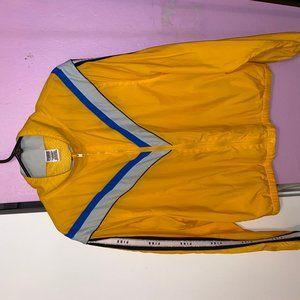 VS Pink perfect full zip yellow bling track anorak